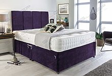 Sleep Factory's Purple Velvet Manhattan Divan