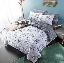 Sleepdown Lalamas Animal print Reversible Quilt
