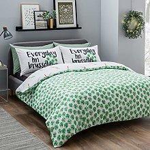 Sleepdown Sprouts Green Bedding Set-Single,