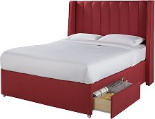 Sleepeezee 2000 Hybrid 2 Drawer Rose Divan - Double