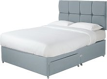 Sleepeezee 2000 Hybrid Double 2 Drawer Divan - Blue