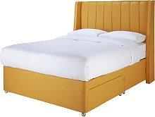 Sleepeezee Hybrid 2000 2 Drawer Double Divan Set -