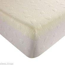 sleepkings 4ft6 Double Bed Memory Foam & Redlex