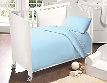 SleepyNights 100% Egyptian Cotton COT Fitted Sheet