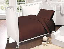 SleepyNights Egyptian Cotton Cot Bed Fitted Sheet