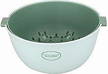 SLHP Multi 2 in 1 Kitchen Strainer Bowl, Plastic
