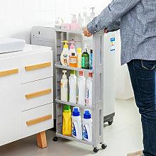 Slide Out Kitchen Storage Shelf Unit Trolley Slim