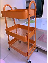 Slide-Out Rolling Trolley, 3-Layer Ultra-Thin