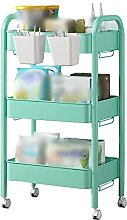 Slide Out Trolley, Multifunctional 3-Layer Storage