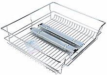 Sliding Cabinet, Professional Chromed Metal Slide