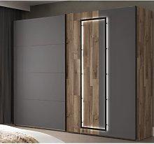 Sliding door cabinet Brayden Studio