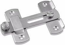 Sliding door lock Door lock Loop latch loop lock