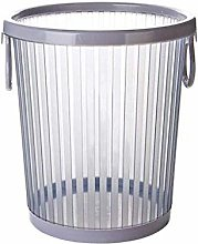 SLINGDA Paper Basket Bins with Pressure Ring Trash