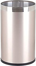 SLINGDA Stainless Steel Trash Can, Large Household