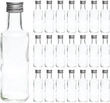 slkfactory 20 x Small Doric Schnapps Bottles