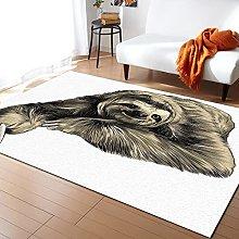 Sloth Animal Carpet for Living Room Home