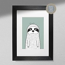Sloth Print - Wall Art | Child Room | Kids Room