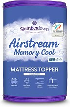 Slumberdown Airstream Memory Fibre Mattress Topper