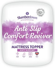 Slumberdown Anti Slip Comfort Mattress Topper -