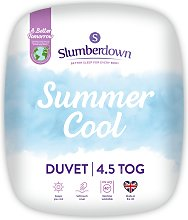 Slumberdown Summer Cool 4.5 Tog Duvet - Single