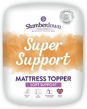 Slumberdown Support 4cm Mattress Topper - Kingsize