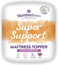 Slumberdown Support 4cm Mattress Topper - Single