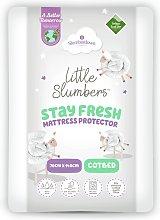 Slumberdown Teflon Mattress Protector - Cot Bed