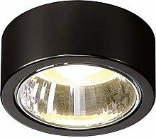 SLV CL 101 TCR-TSE Indoor Ceiling Light Black Max.