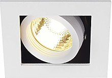 SLV Recessed Lighting Kadux 1Downlight, Gu10,