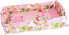 SM SunniMix 5 Pieces Baby Nursery Crib Bedding Set