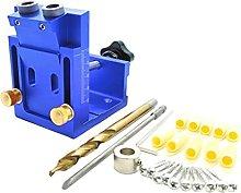 SM SunniMix Carpenter Pocket Hole Jig Kit, Oblique