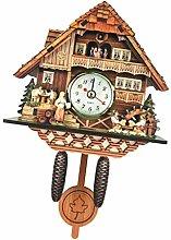 SM SunniMix Cuckoo Clock Wall Clock with Bird,