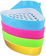 Small Animal Hamster Triangle Toilet Pet Cavy