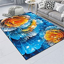 small carpets for living room Living room rug blue