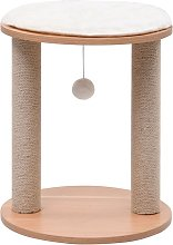 Small Cat Tree with Scratching Posts 44 cm - Brown