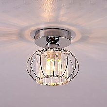 Small Ceiling Lighting Crystal Chandelier Semi