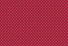 Small Cherry Red Polka Dot Spotty Vinyl Table