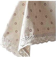 Small chrysanthemum Pattern Table Cloth -