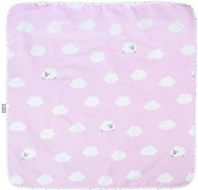 Small Cloud Baby Blanket roba Colour: Blue