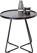 Small Coffee Table Side Table,Wrought Iron Tea