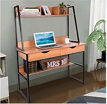 Small Computer Desk for Small Spaces, Ladder Desk
