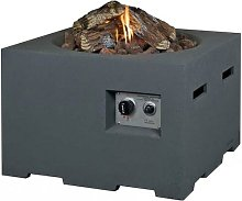 Small Concrete Propane Fire Pit Belfry Heating