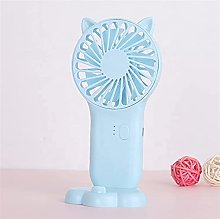 small desk fan, Portable Mini Fan USB Rechargeable