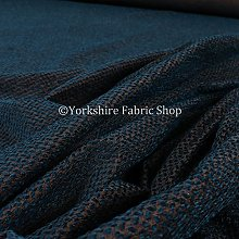 Small Falling Leaf Pattern Blue Colour Soft