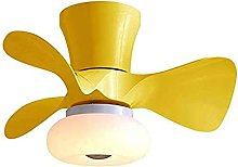 Small Fan Ceiling Light Remote Control Silent