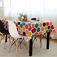 Small Fresh Cotton Linen Table Cloth Nordic