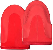 Small Gauntlet Oven Gloves Heat Resistant Silicone