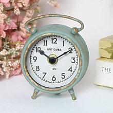 Small Grey Mantel Clock