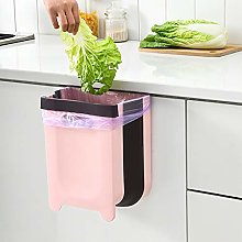 Small Hanging Kitchen Trash Can,Folding Trash Can,