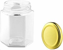 Small Honey Bottle Kitchen Container Pot Jam Jar